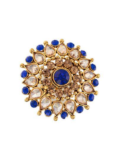 Blue Stonework Ring