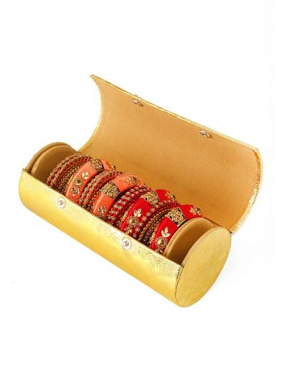 Gold Bangle Box