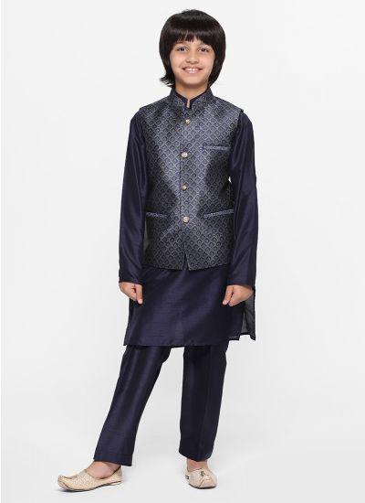 Brocade Waistcoat Set