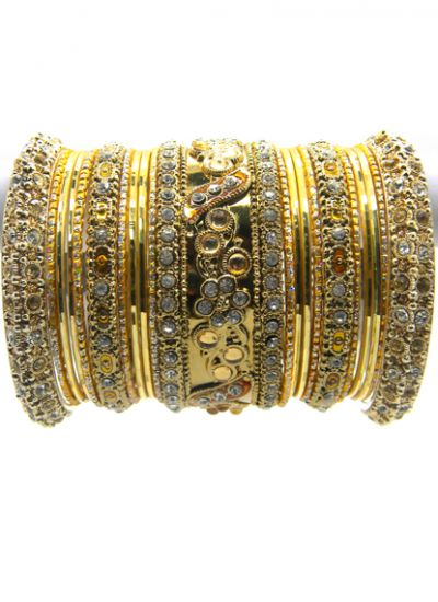 Traditional Meenakari Bangle Set
