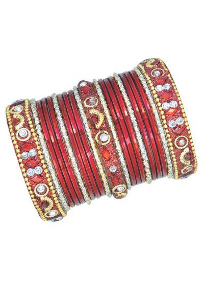 Studded Bangle Set