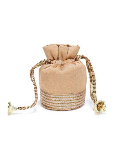 Small Gold Sequins Potli