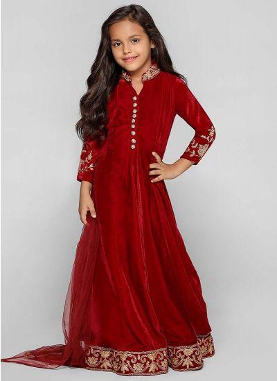 Velvet Empire Dress