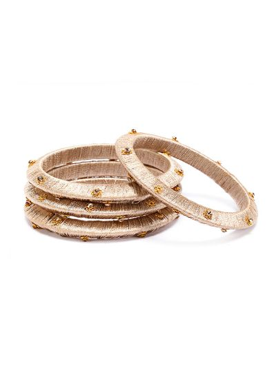 Gold Threaded Bangles