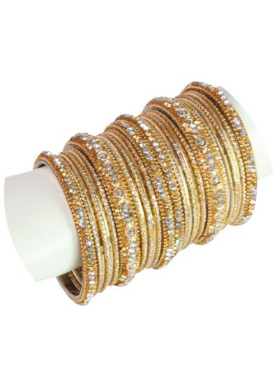 Ornate Dual Bangle Set
