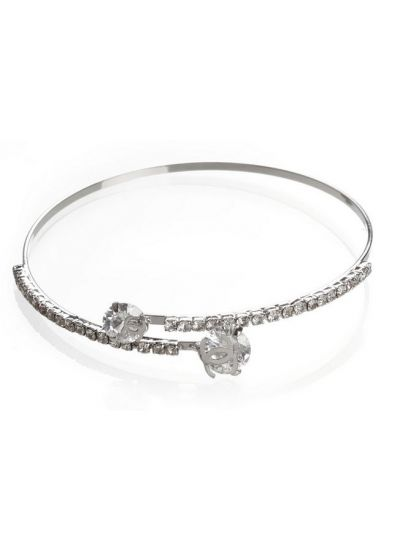 Silver Wrap Around Bracelet