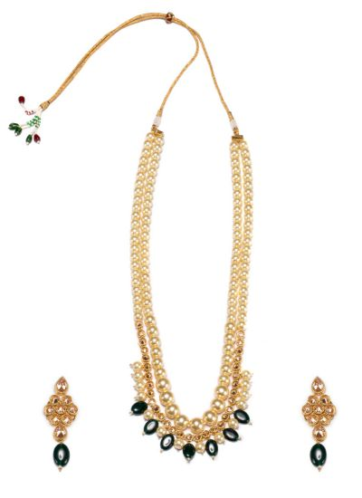 Pearl & Emerald Rani Haar