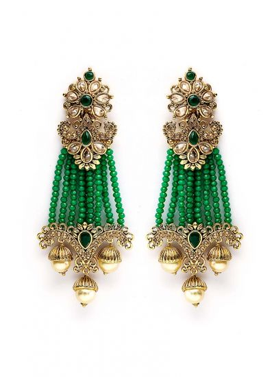 Passa Crystal Drop Earrings
