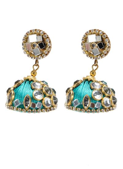 Rama Mirror Earrings