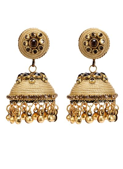 Gold Topaz Earrings