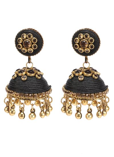 Black Topaz Earrings