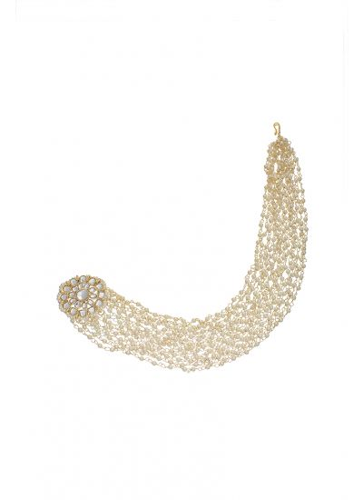 Ivory Pearl Strand Sahara Earrings