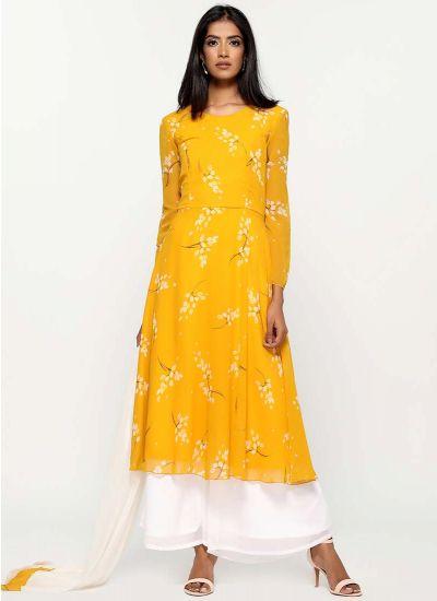 Wisteria Printed Ceylon Dress