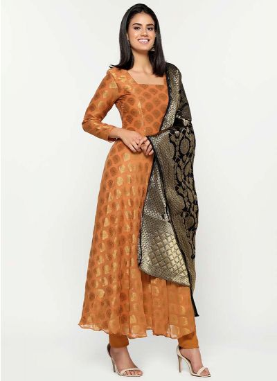 Luxe Jacquard Flow Dress
