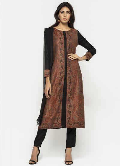 Kashmiri Woven Shawl Dress