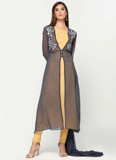 Oriental Thread Jacket Suit