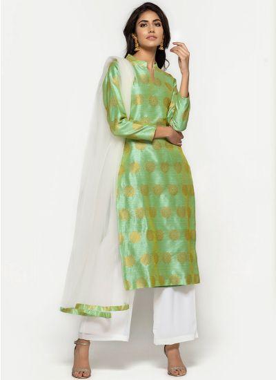 Mulberry Silk Sage Dress