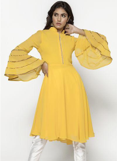 Canary Pearl Dress