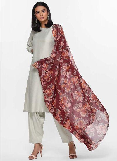 Blossom Printed Mint Dress
