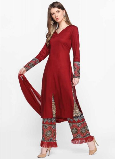 Tribal Fringed  Dress