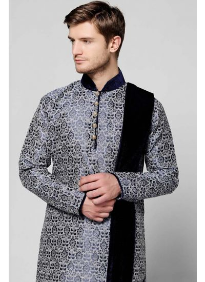 Brocade Kurta Set