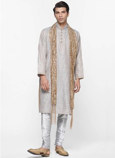 Stone & Copper Kurta Set
