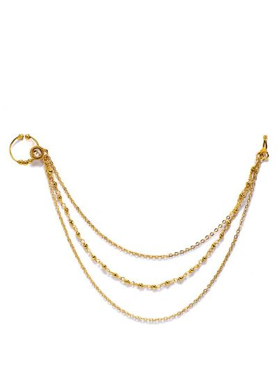 Layered Gold Nose Ring