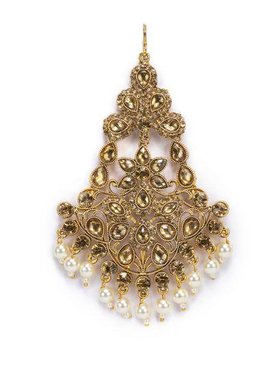 Gold Stone And Pearl Passa