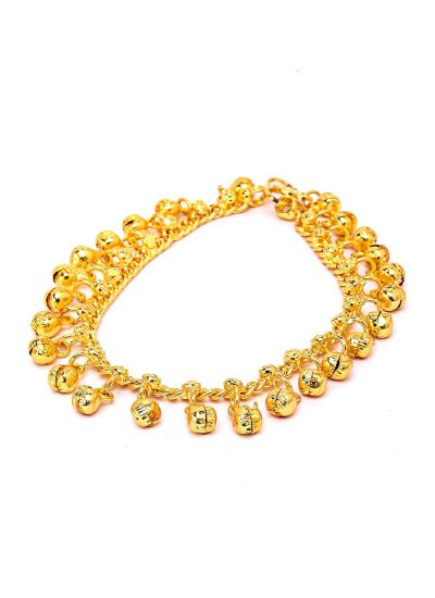 Chain Gold Payal Pair