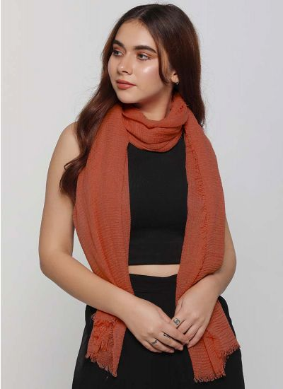 Soft Crimp Scarf