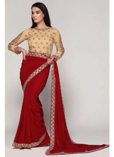 Zari Thread Saree