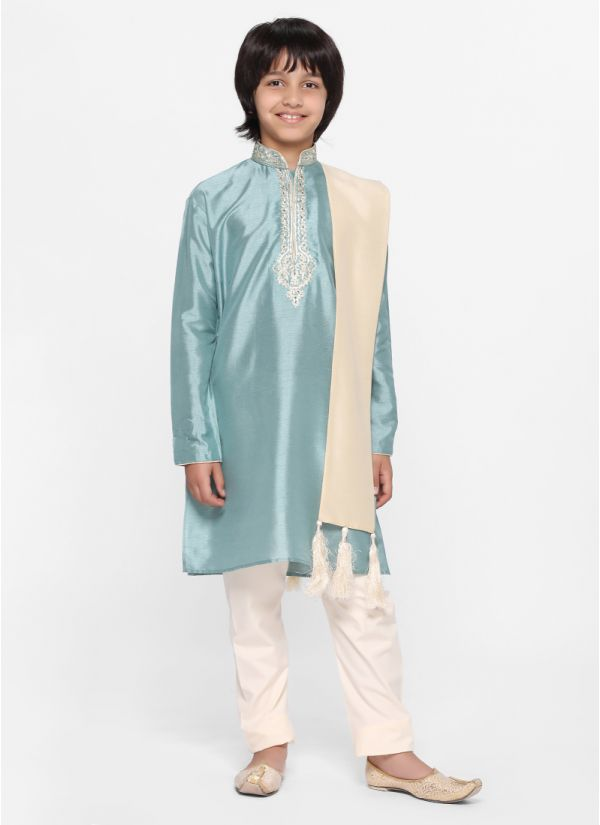 Duck Egg Kurta Set