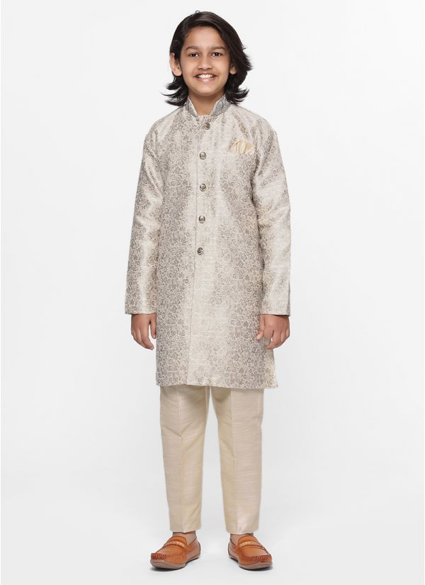 Jacquard Jacket Suit