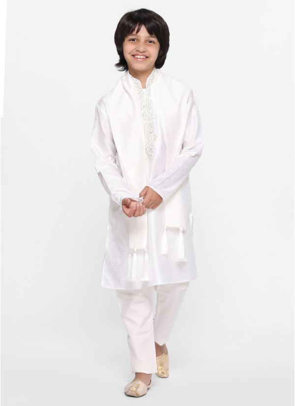 Silver Regal Kurta Set