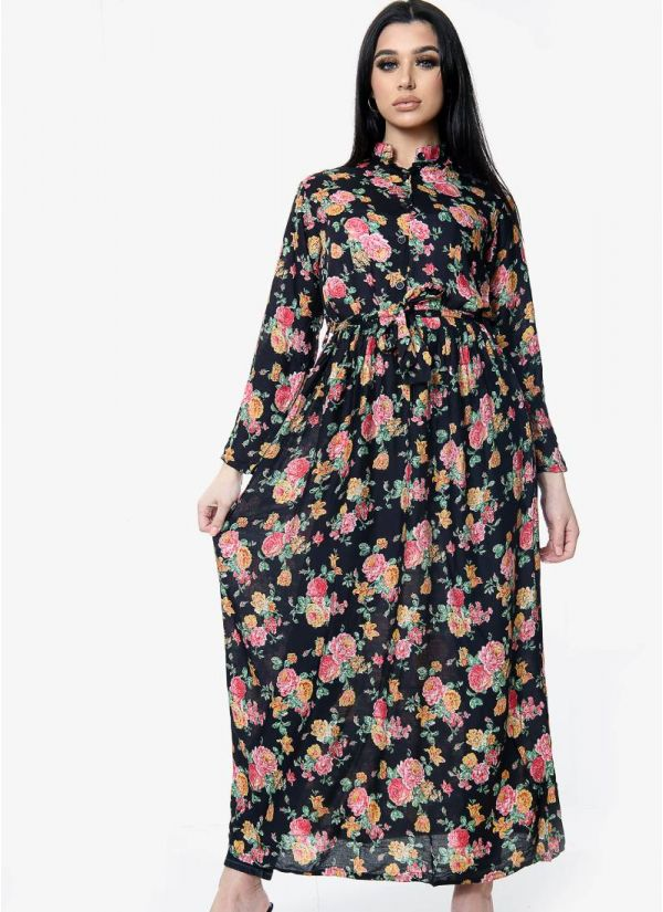 Rayon Print Dress