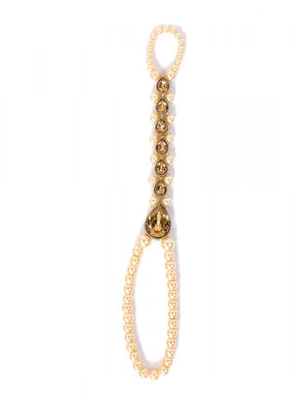 Pearl String Stonework Hand Panja