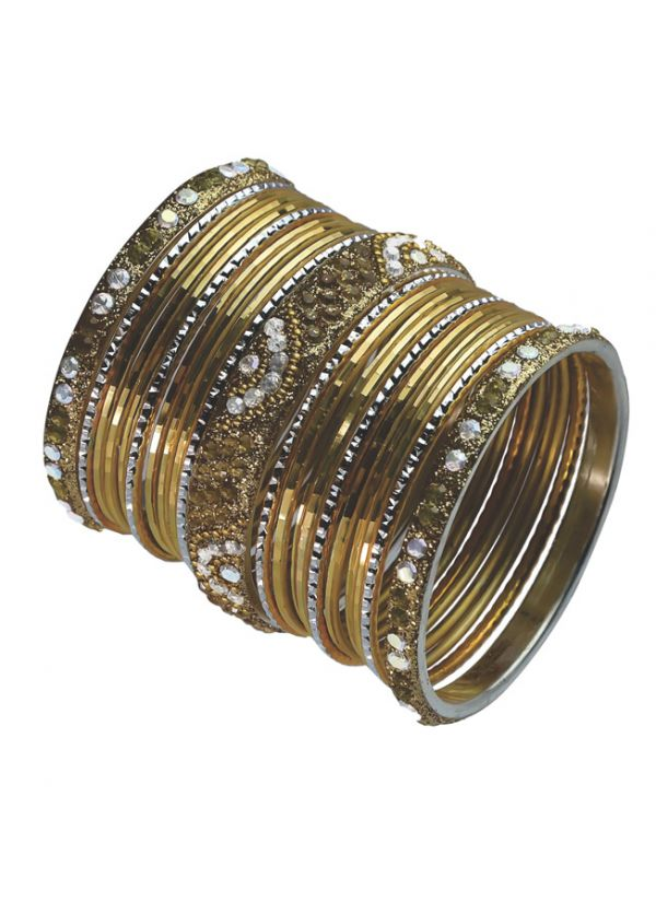 Diamonte Embellished Bangles