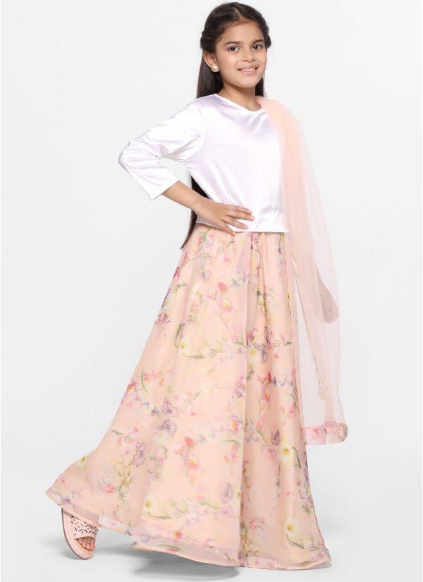Flow Foliage Skirt Set