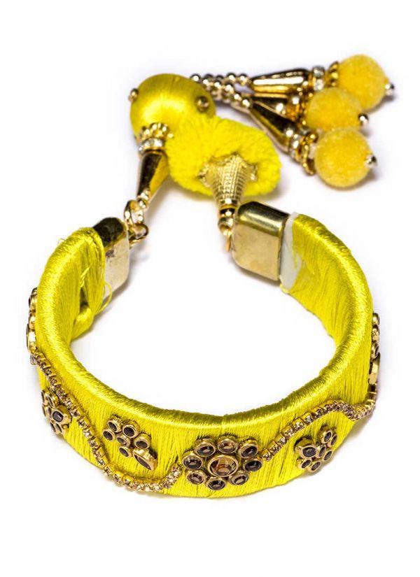 Lemon Thread Bracelet