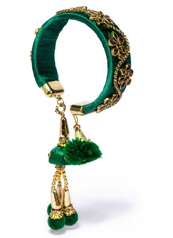 Green Thread Bracelet