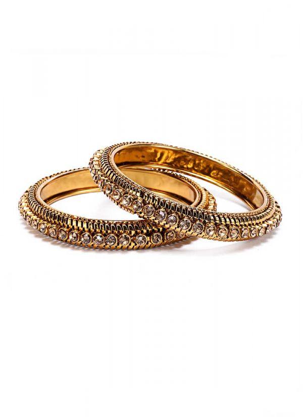 Traditional Gold Stone Kadas