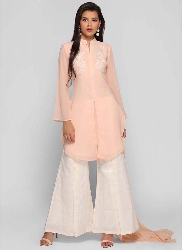 Box Pleat Bell Dress
