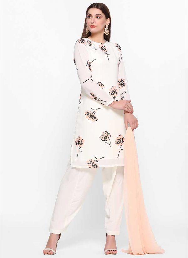 Spring Printed Salwar Suit