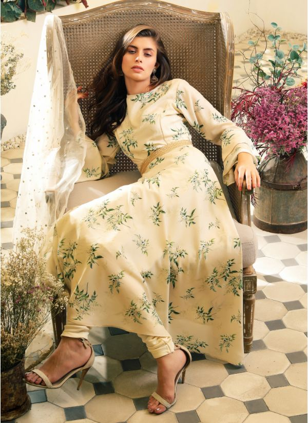 46e11459579 Luxe Foliage Print Suit ...