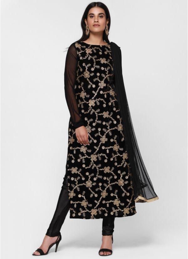 85e57bc3da Zari Velvet Luxe Suit ...