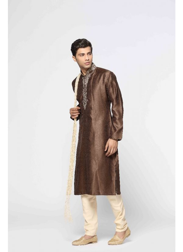 Antique Handwork Kurta Pyjama Set