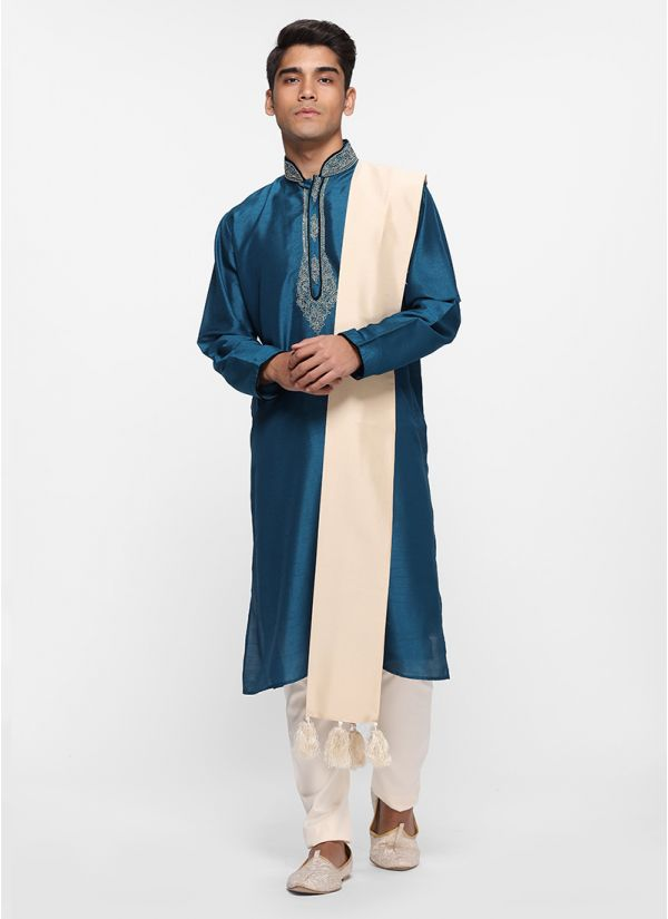 Ink Blue Kurta Set