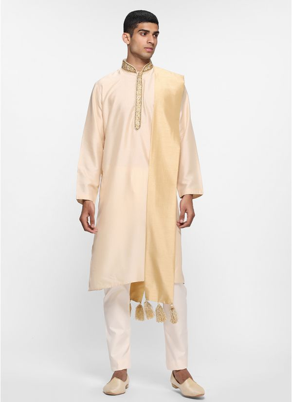 Rose Gold Kurta Set