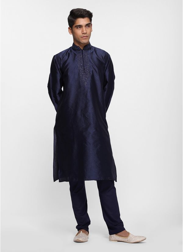 Lurex Midnight Kurta Set