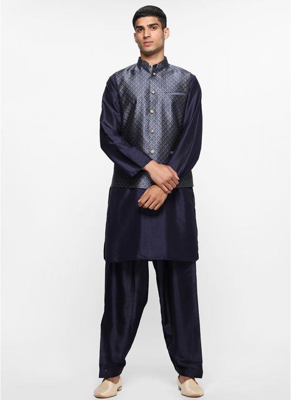 Luxe Brocade Waistcoat Set